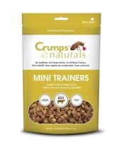 Crumps' Naturals - Mini Trainers – Freeze Dried Beef Liver (8 bags x 3.7 oz.)