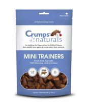 Crumps' Naturals - Mini Trainers – Semi Moist Beef (8 bags x 8.8 oz.)