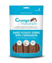 Crumps' Naturals - Sweet Potato Strips with Cinnamon (12 bags x 5.6 oz.)