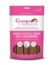 Crumps' Naturals - Sweet Potato Strips with Cranberry (12 bags x 5.6 oz.)