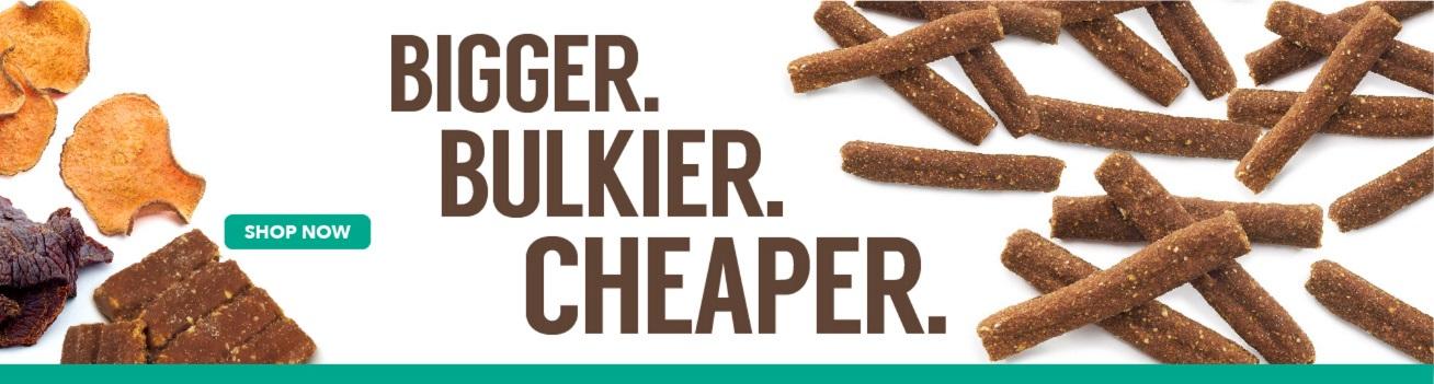 buy dog treats in bulk